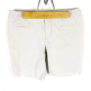 INC (H3-22) Women's Petite Sz 12P Beige Shorts